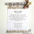 barna kémcsöves esküvői meghívó szöveg