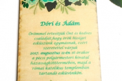 fa esküvői meghívó szöveg
