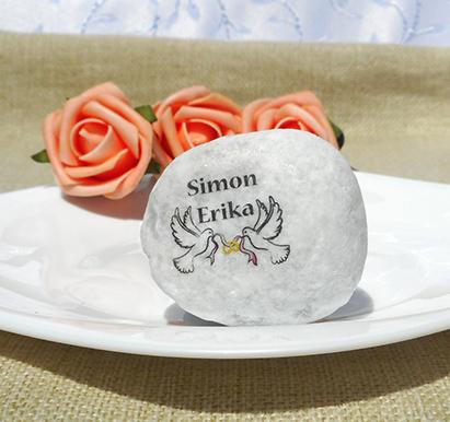 galamb esküvő kő