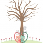 cicás virágos ujjlenyomatfa