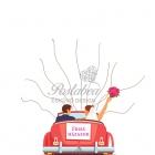 piros autós ujjlenyomatfa
