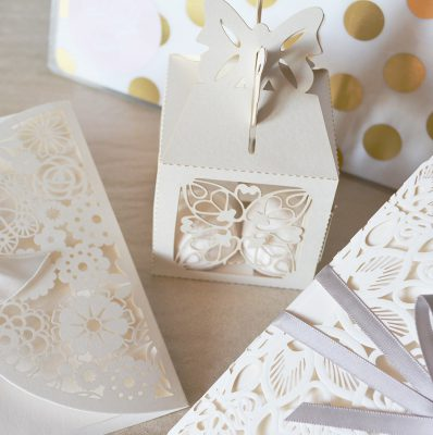 esküvő doboz