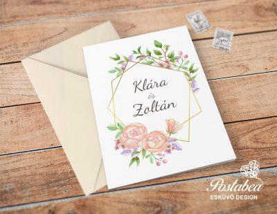 03517d6e3a Esküvői meghívó trend 2019 | Postabea esküvői meghívó